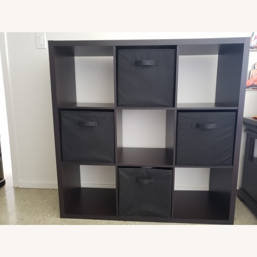 "Used Target 9 Cube (13"") Brown Organizer Shelf for sale on AptDeco"