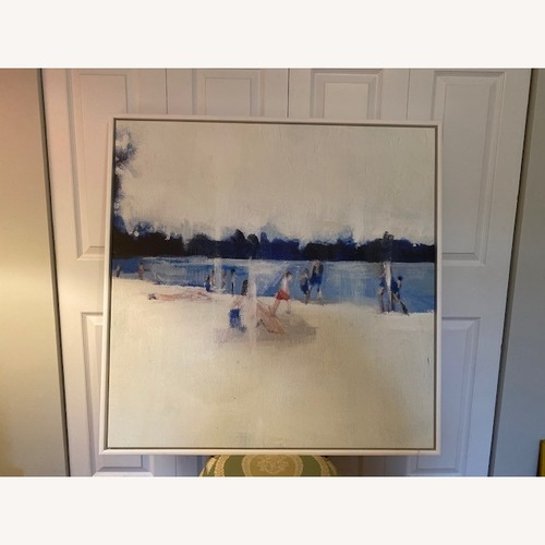 Used Modern Beach Scape Painting for sale on AptDeco
