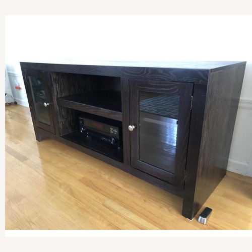 Used Raymour & Flanigan Media Console/ TV Stand for sale on AptDeco