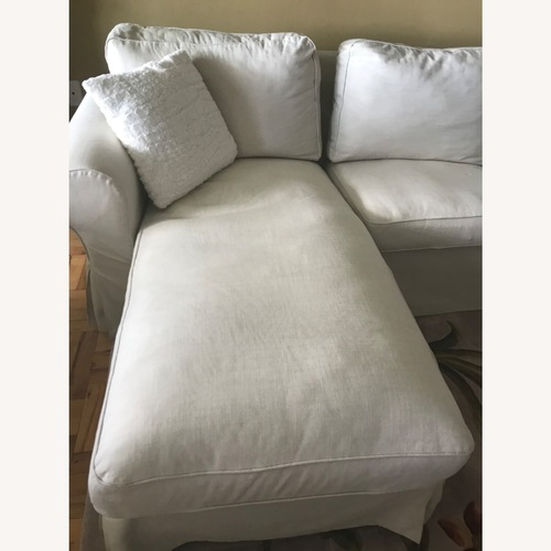 Used IKEA Chaise and Love Seat Attached for sale on AptDeco