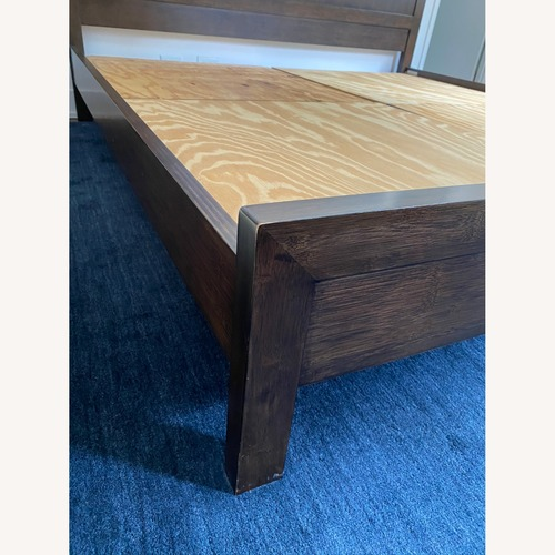 Used Crate & Barrel King Bed for sale on AptDeco