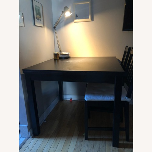 Used IKEA Extendable Dining Table & Chairs for sale on AptDeco