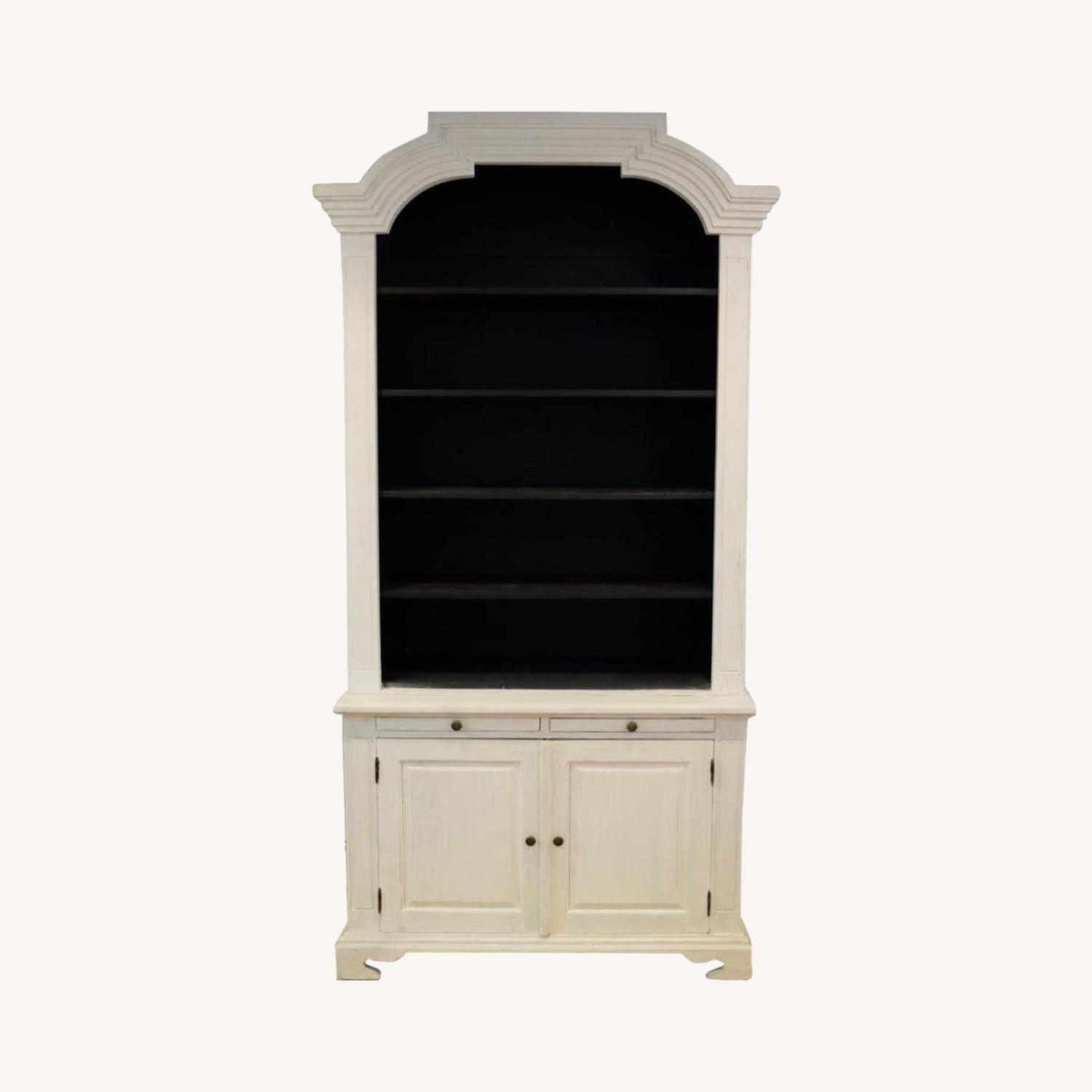 Vintage French Country Style Bookcase - image-0