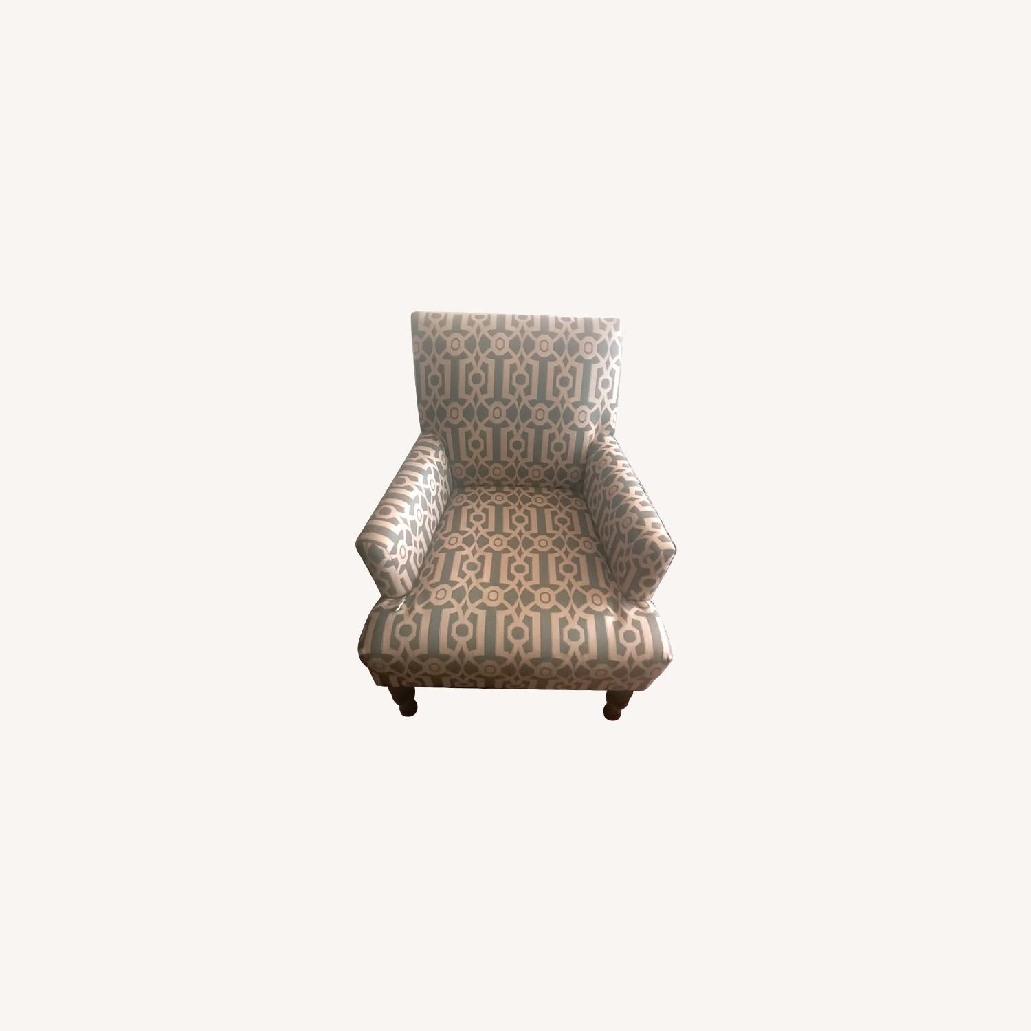 Pier 1 Imports Teal Modern Accent Chair - image-10