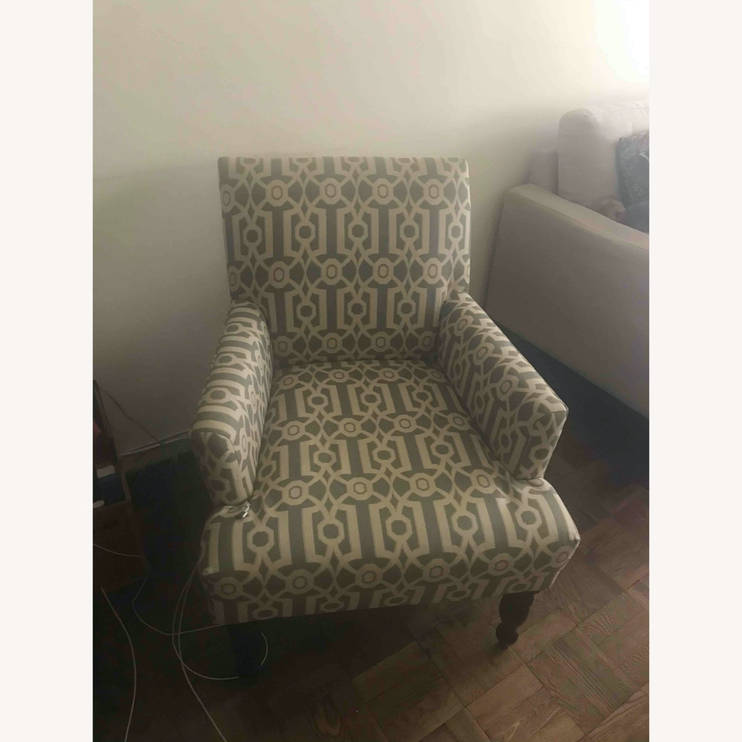 Pier 1 Imports Teal Modern Accent Chair - image-2