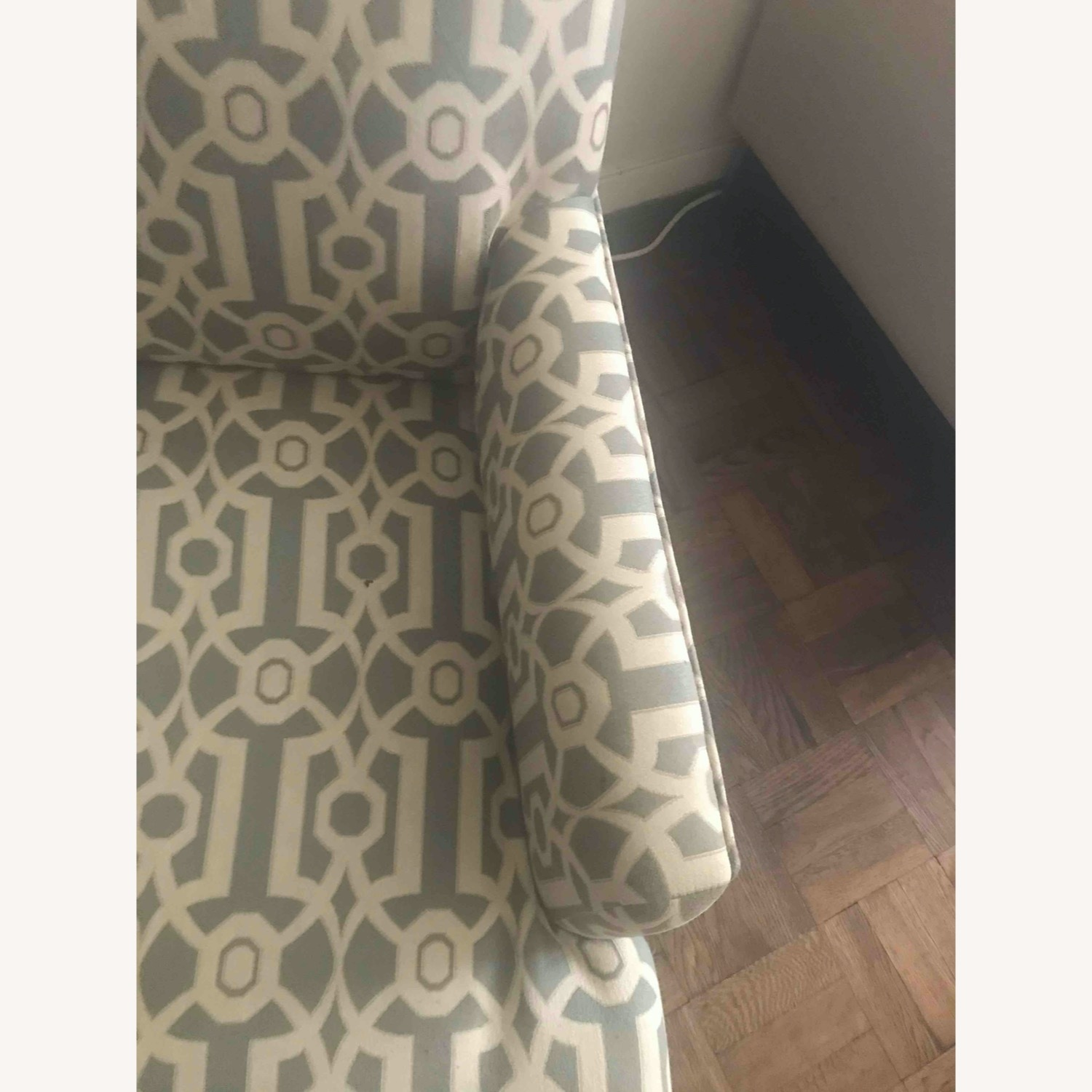 Pier 1 Imports Teal Modern Accent Chair - image-3