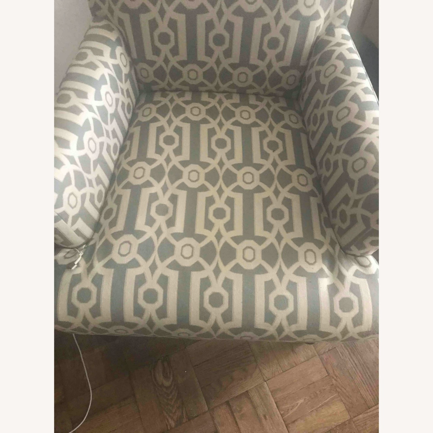 Pier 1 Imports Teal Modern Accent Chair - image-5