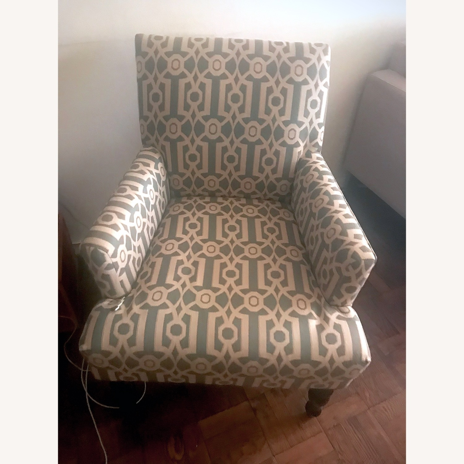 Pier 1 Imports Teal Modern Accent Chair - image-0