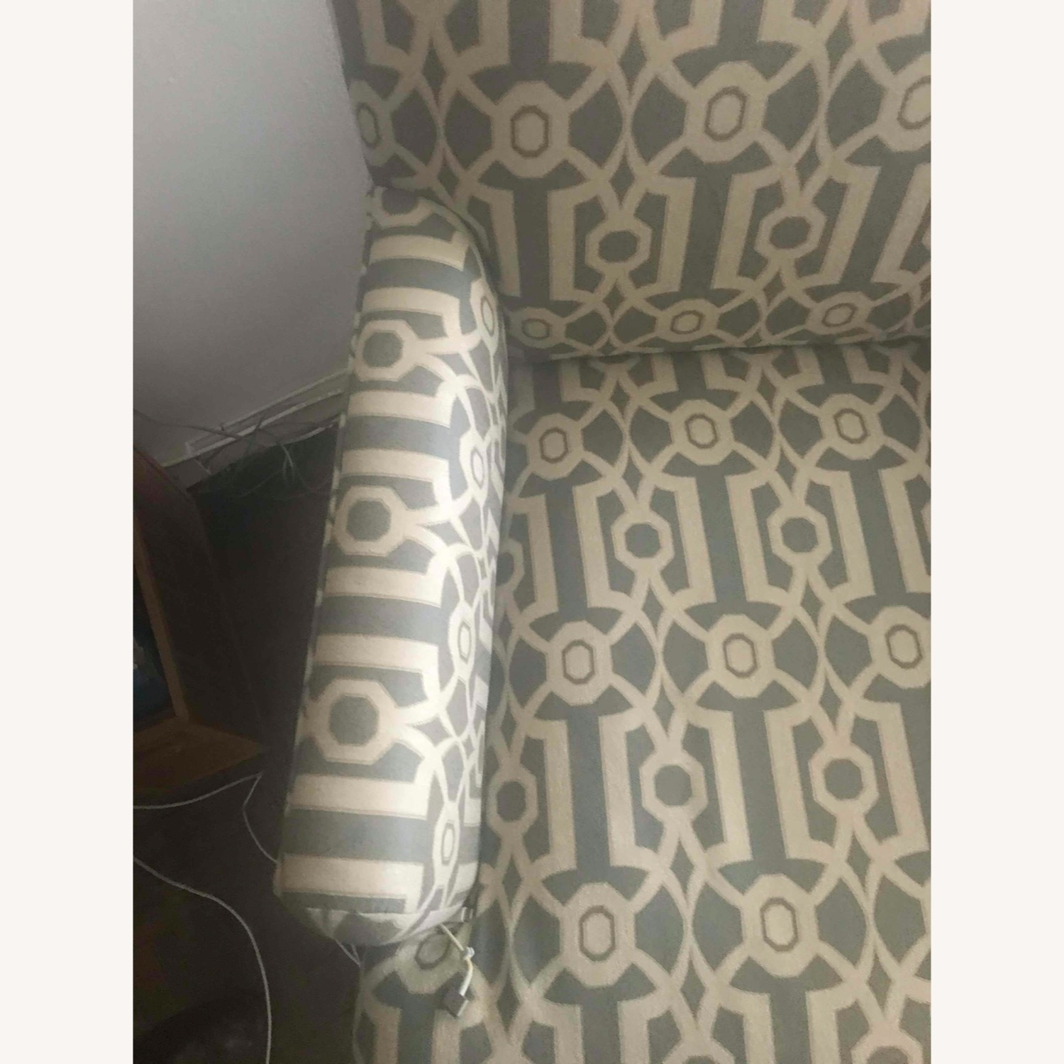 Pier 1 Imports Teal Modern Accent Chair - image-4