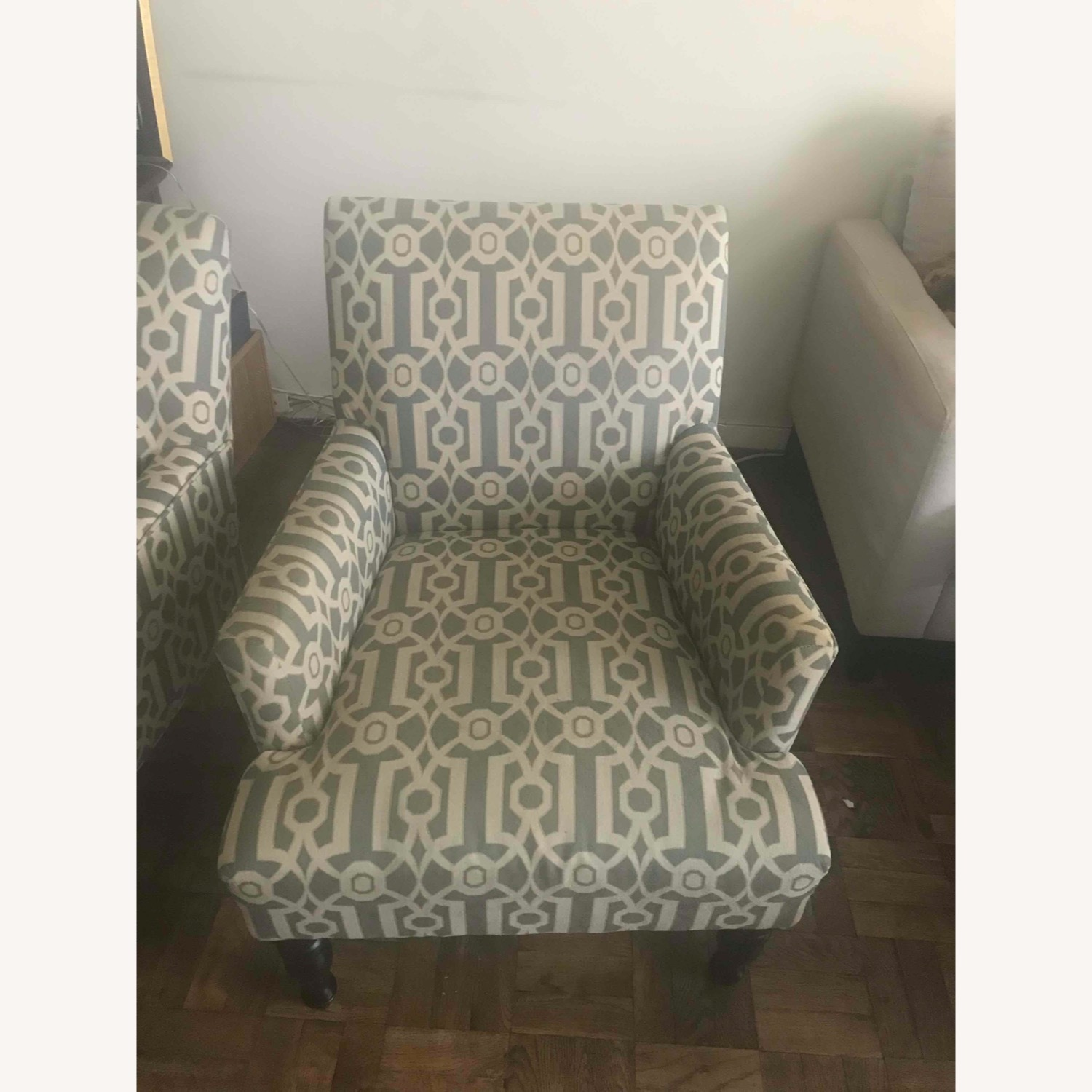 Pier 1 Imports Teal Modern Accent Chair - image-7