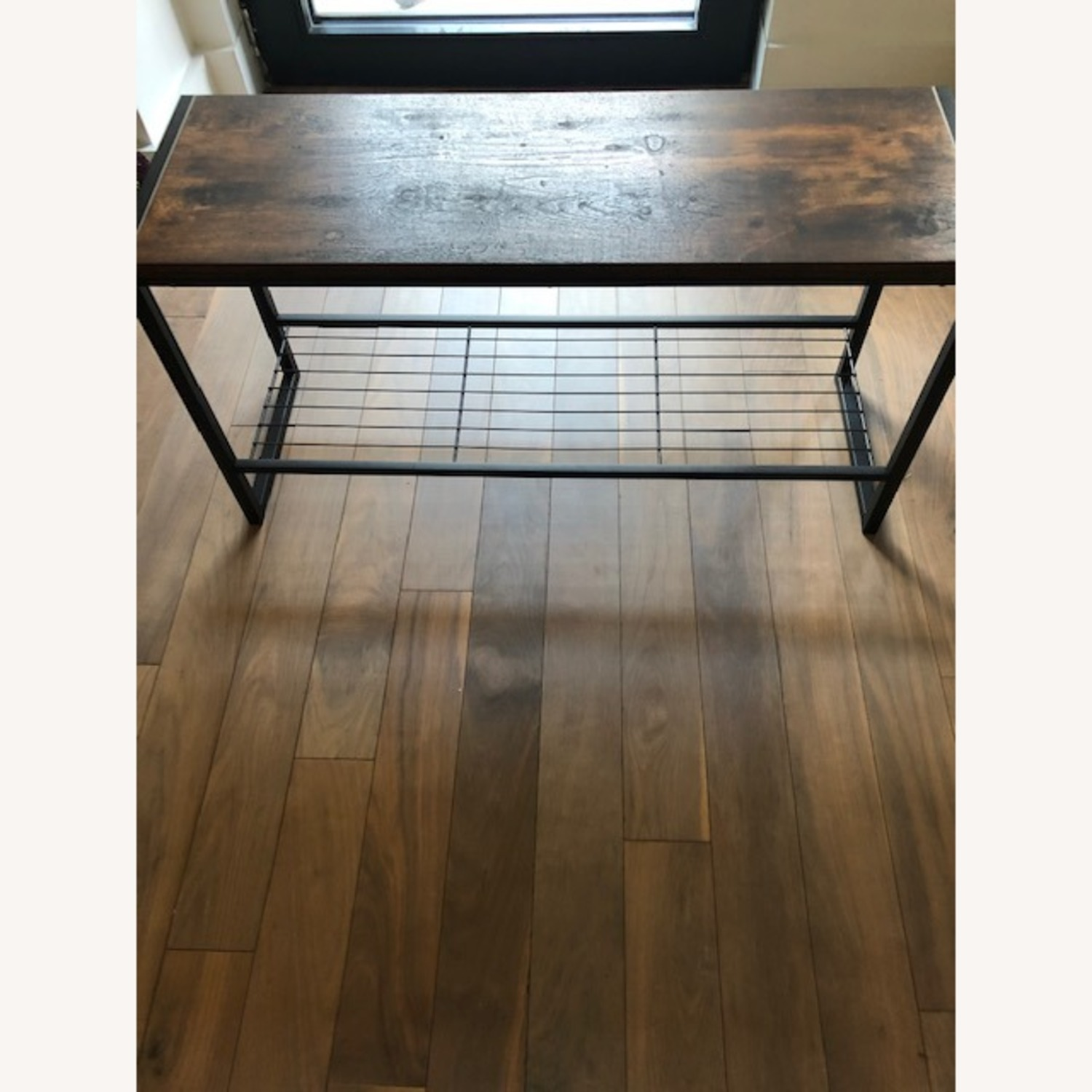 Whitmores Modern Industrial Entry Way Bench - image-2