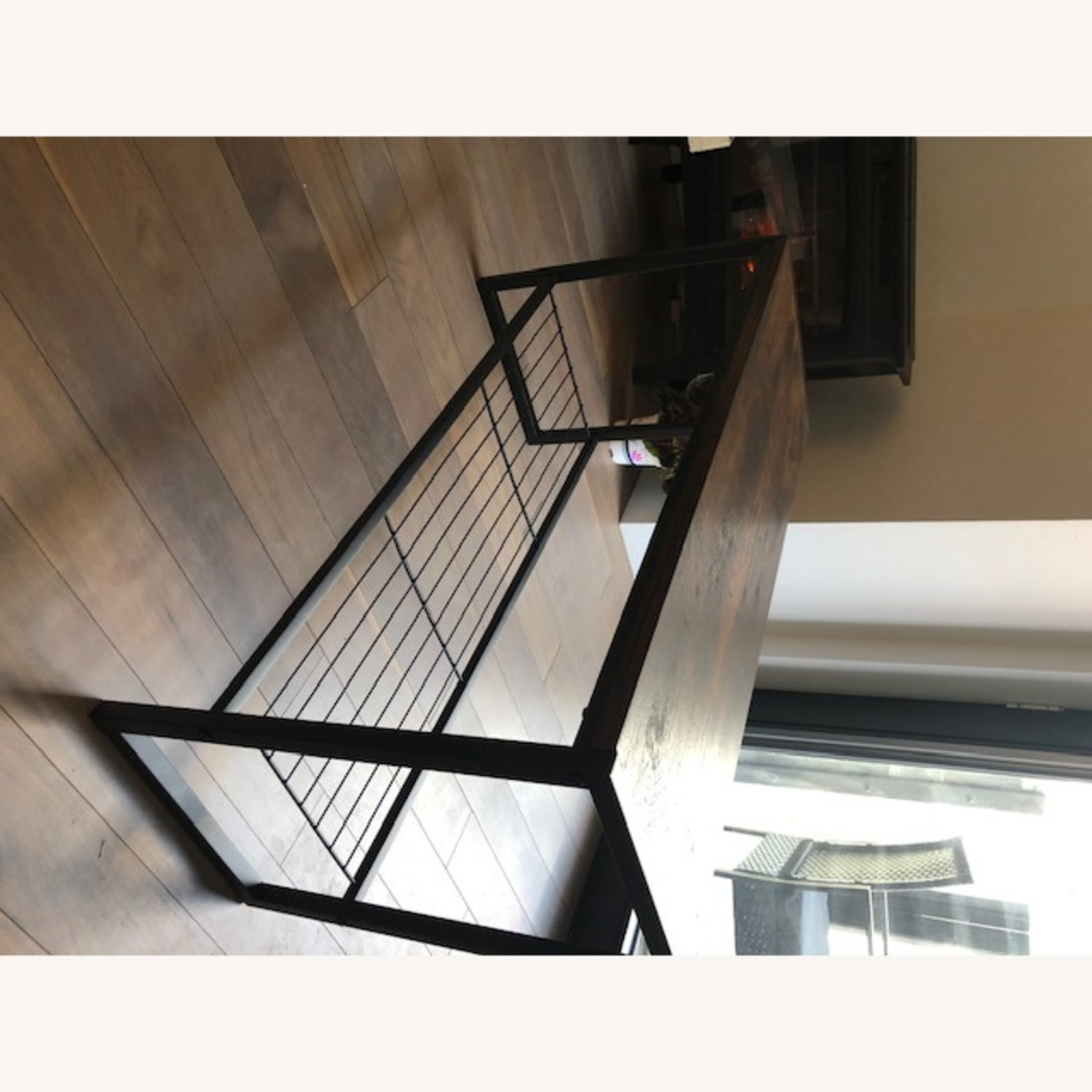 Whitmores Modern Industrial Entry Way Bench - image-5