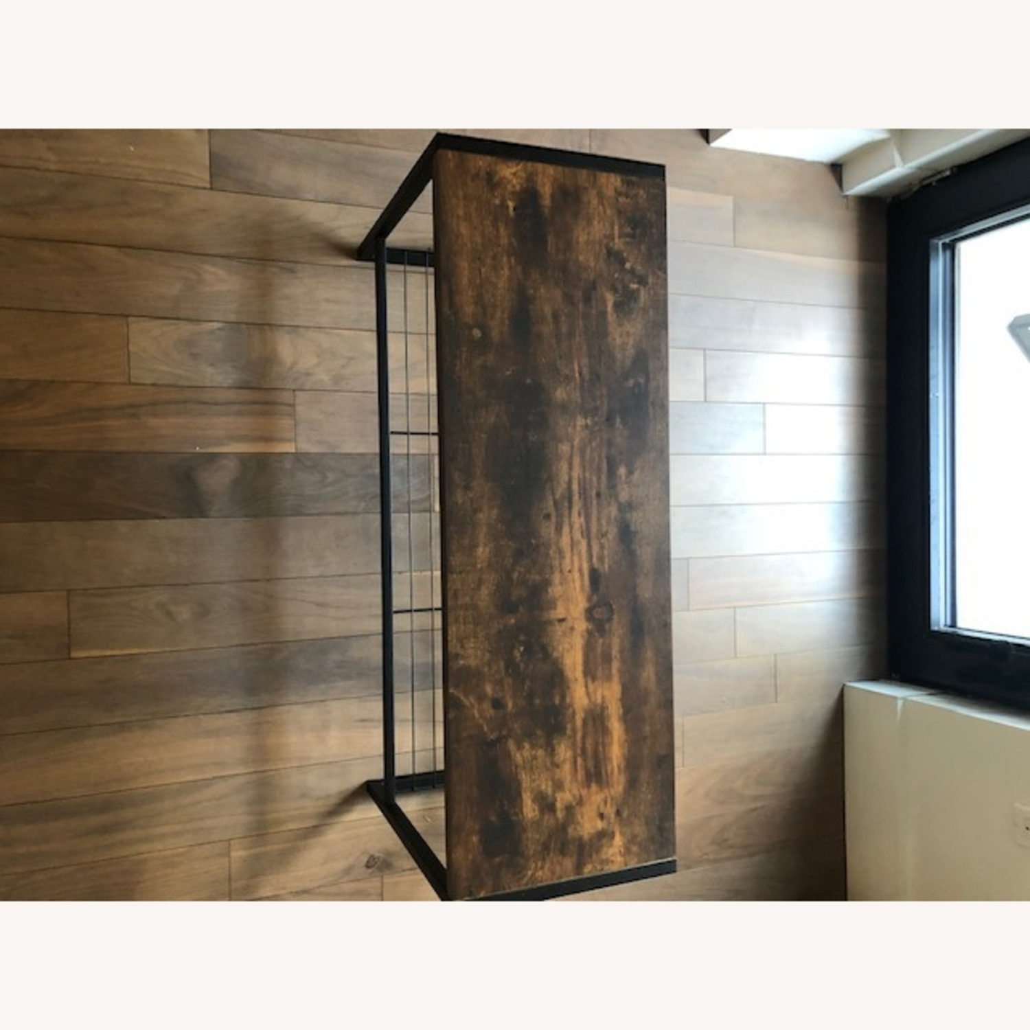 Whitmores Modern Industrial Entry Way Bench - image-6