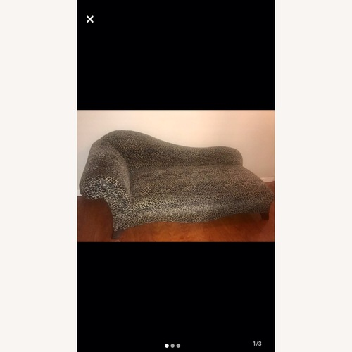 Used Leopard Chaise for sale on AptDeco