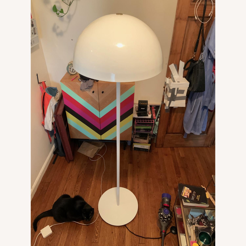 CB2 Hanna White Floor Lamp - image-1