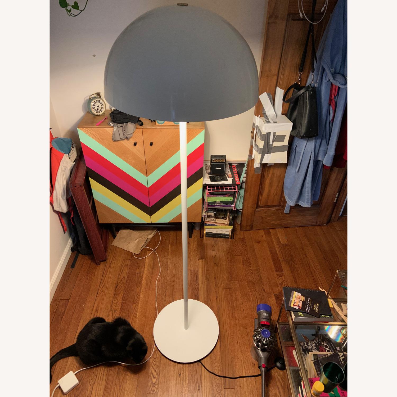 CB2 Hanna White Floor Lamp - image-5