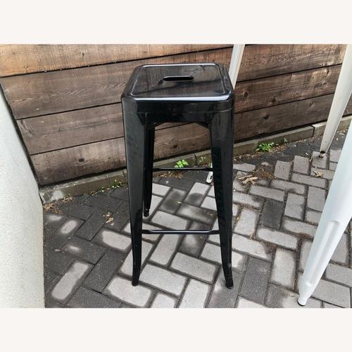 Used 2 Tolix Bar Stools for sale on AptDeco