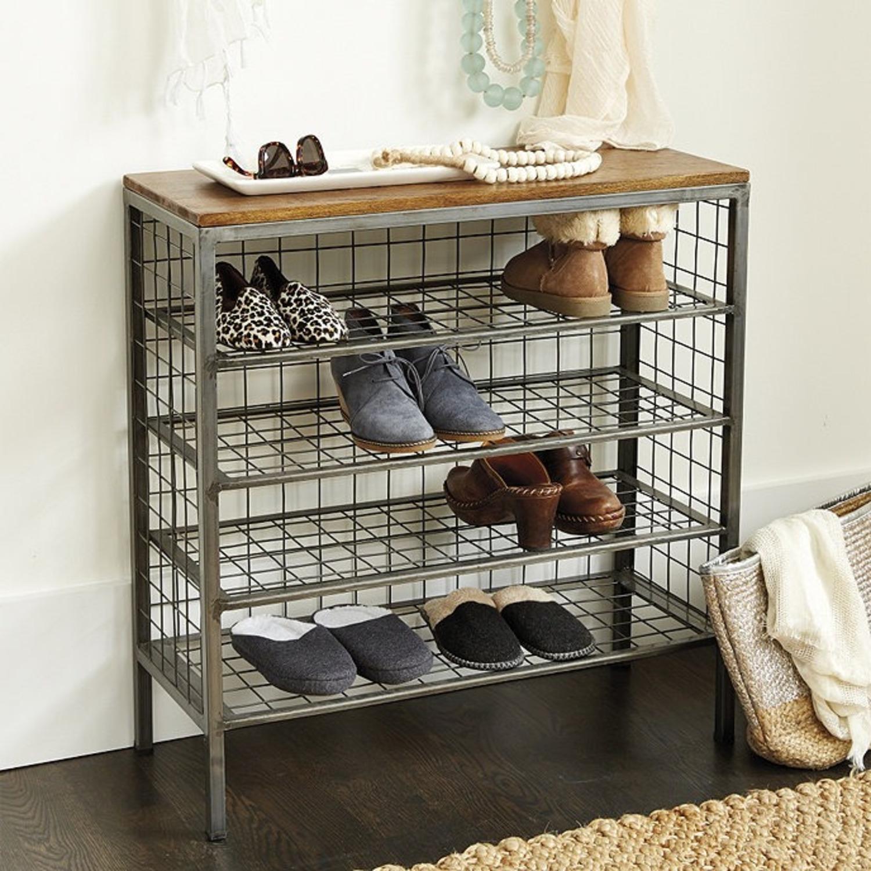 Ballard Designs Cambridge 4-Shelf Shoe Tower - image-1
