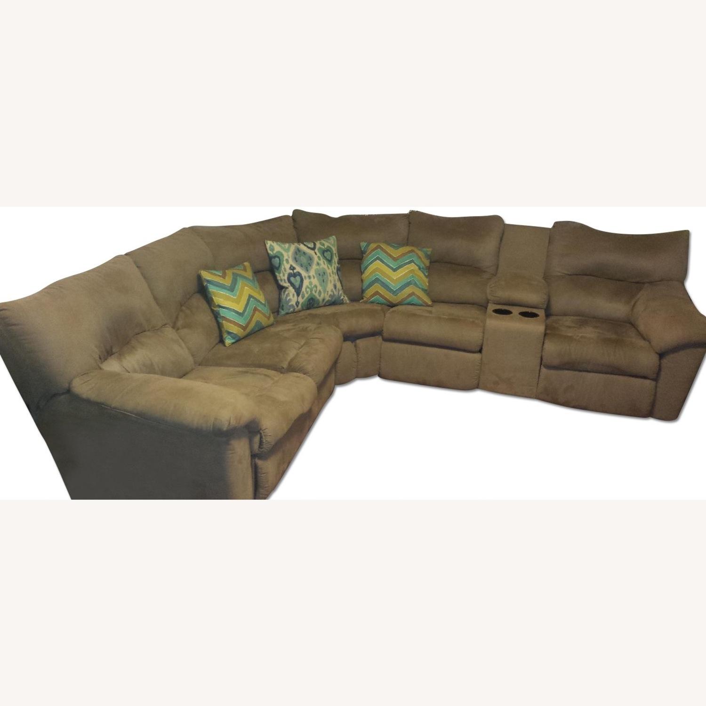 Ashley Furniture Amazon Reclining Sectional Sofa Aptdeco