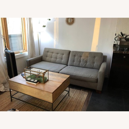 Used Comfortable Grey Couch for sale on AptDeco