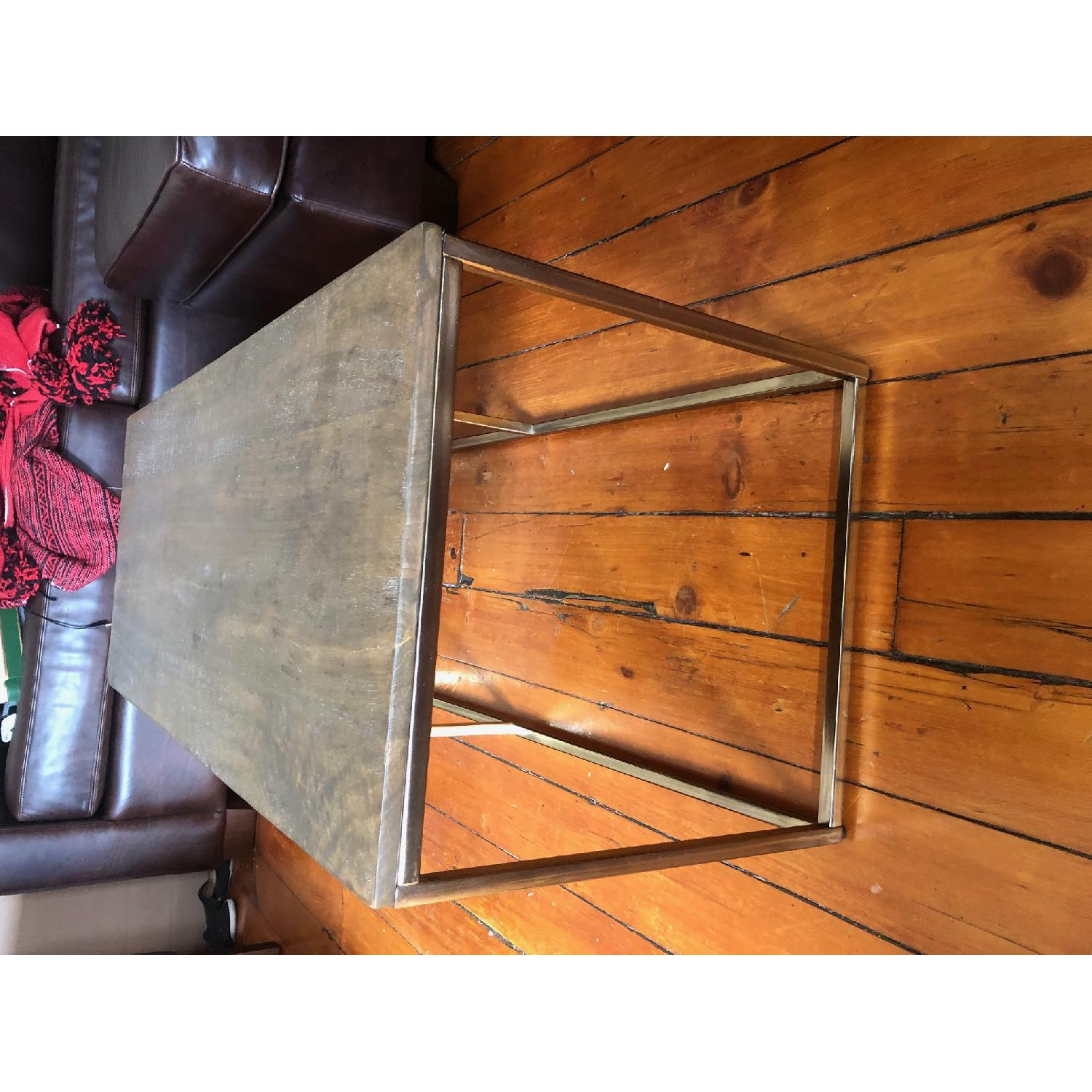 Pottery Barn Delaney Coffee Table Wood/French Grey - image-1