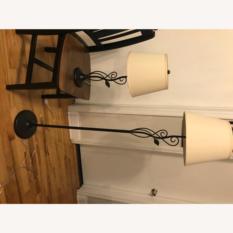 West Elm Floor + Table Lamp Set - image-6