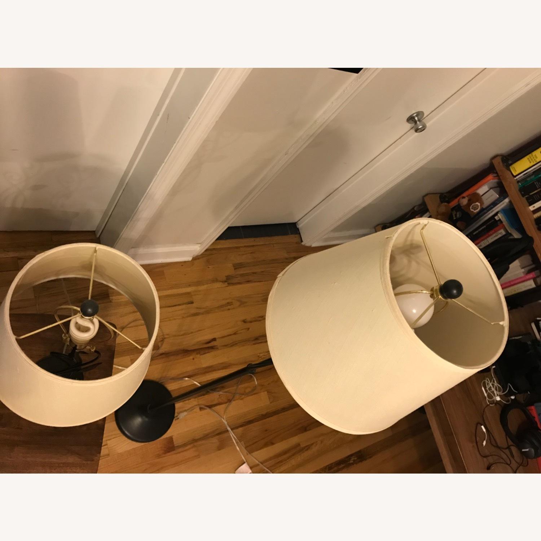West Elm Floor + Table Lamp Set - image-5