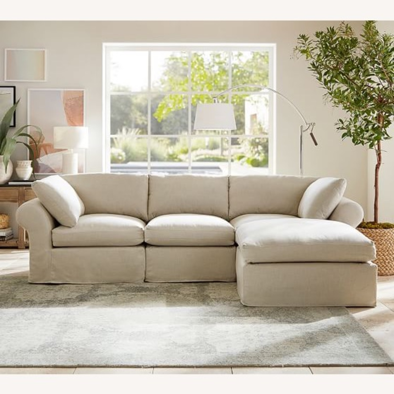 Pottery Barn Sectional - image-0