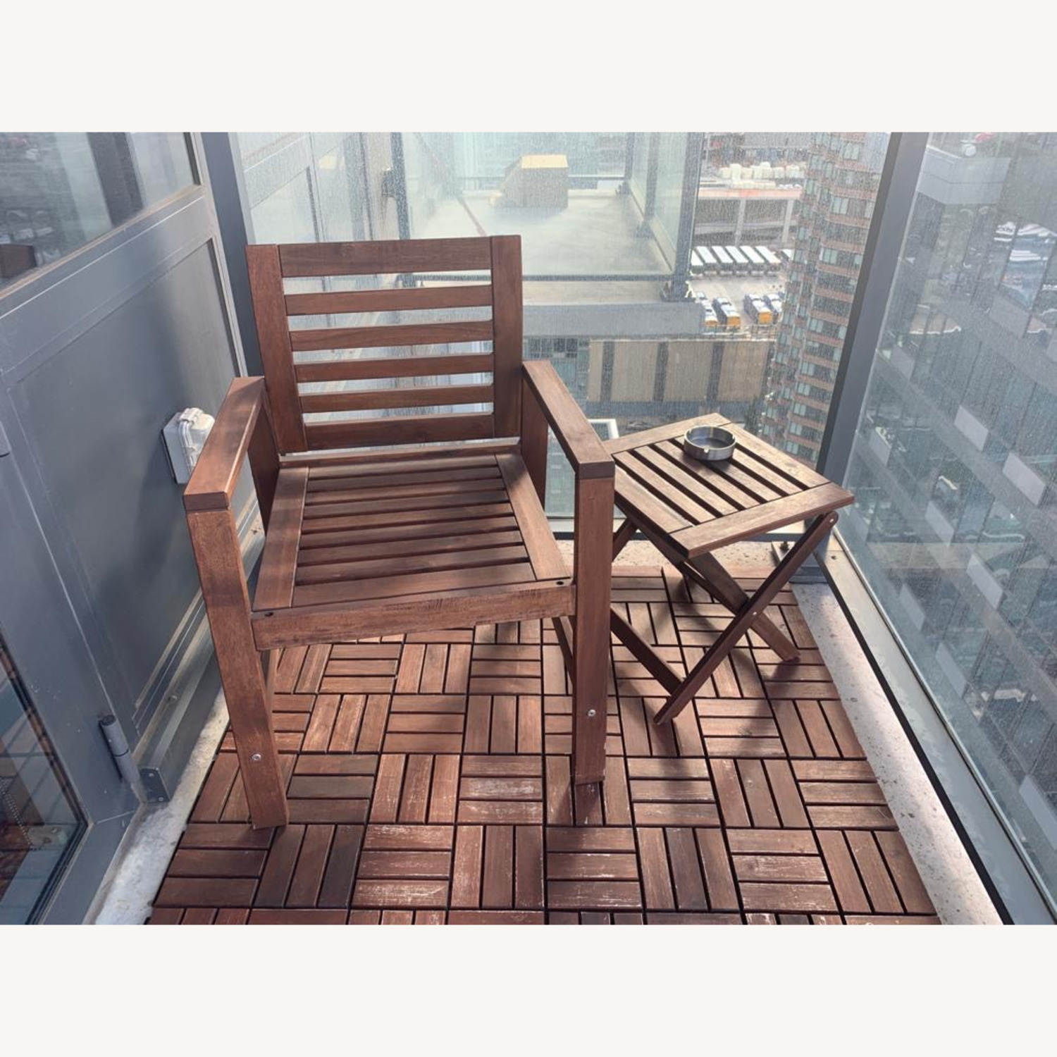 IKEA Outdoor Chair/Table - image-3