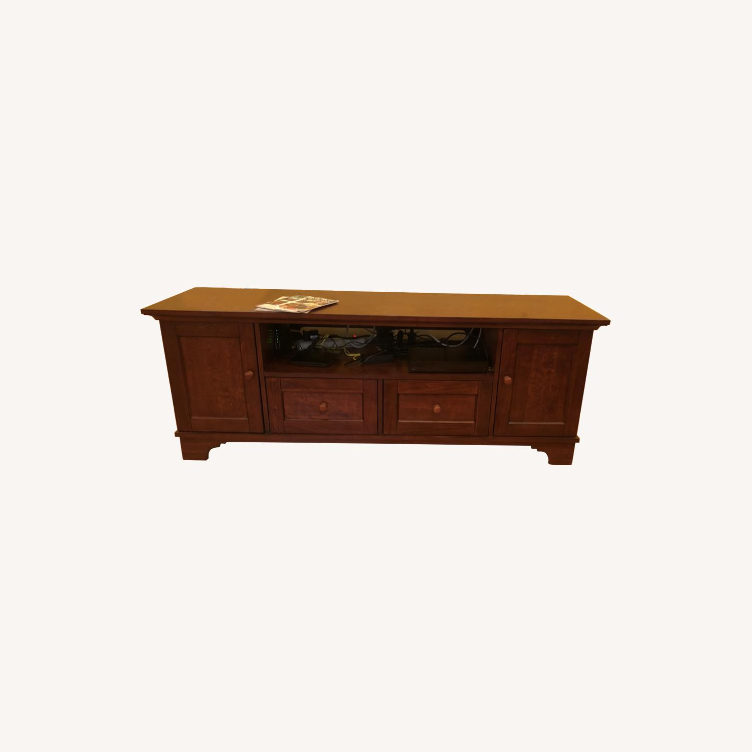 Pottery Barn Entertainment Console - image-0