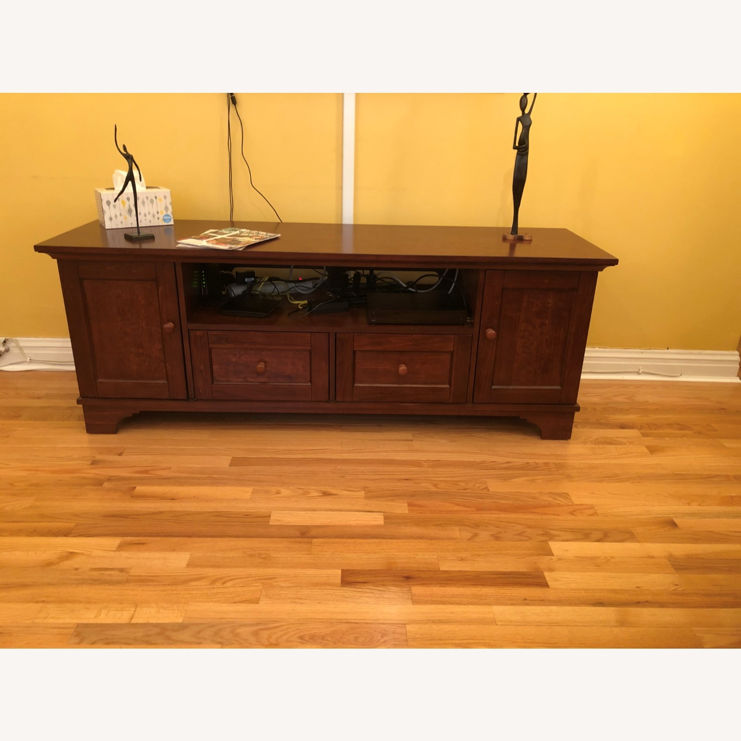 Pottery Barn Entertainment Console - image-1