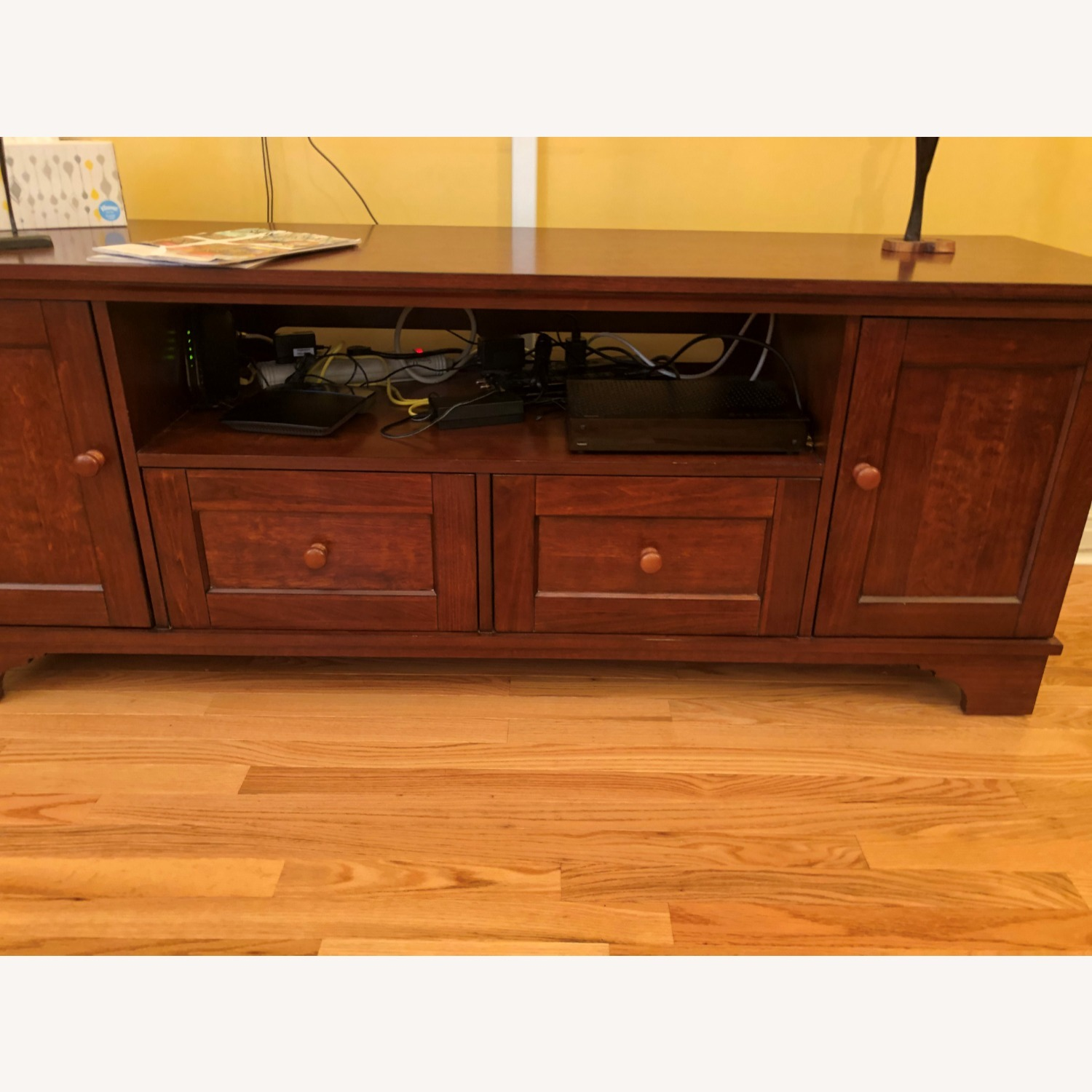 Pottery Barn Entertainment Console - image-2
