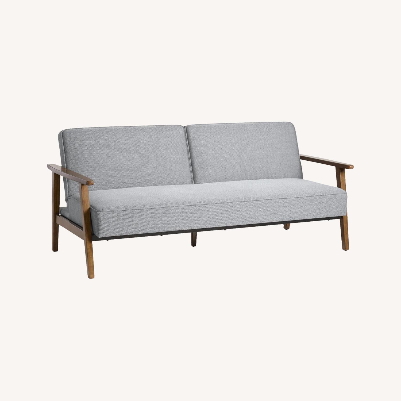 World Market Mid Century Sleeper Sofa Aptdeco