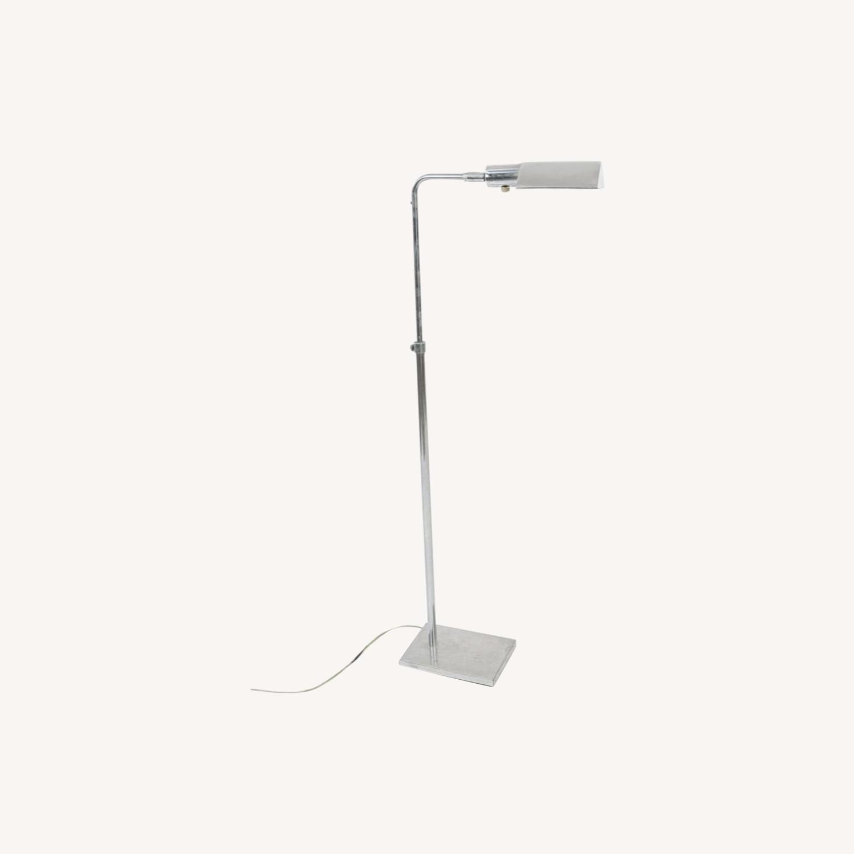 Koch & Lowy MCM Chrome Pharmacy Floor Lamps - image-0