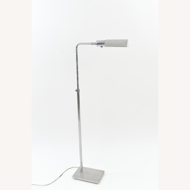 Koch & Lowy MCM Chrome Pharmacy Floor Lamps - image-2
