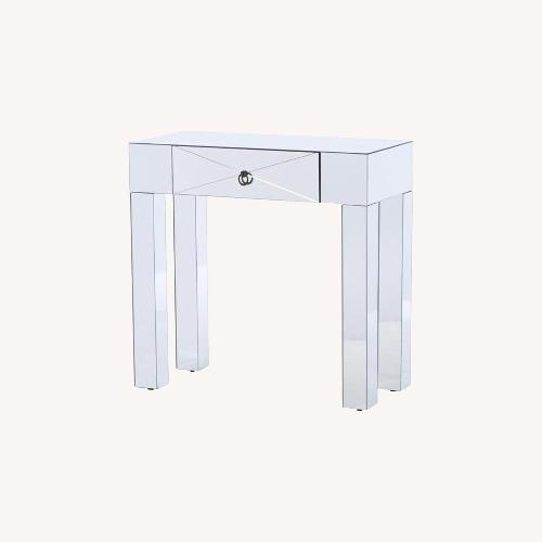 Used Mercers Furniture Mirrored Console Table for sale on AptDeco