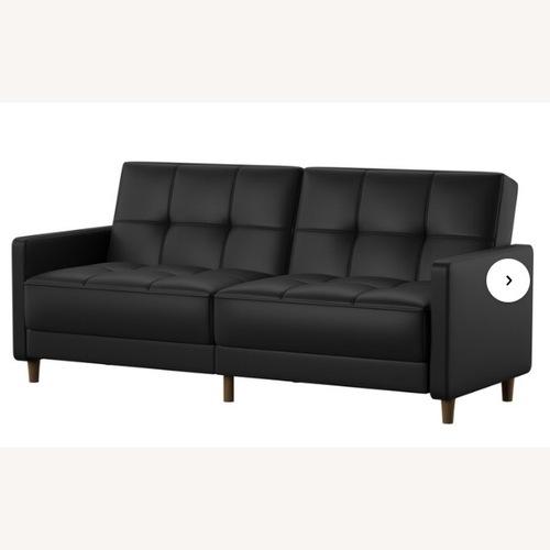 Used Mercury Row Benitez Full Convertible Sofa for sale on AptDeco