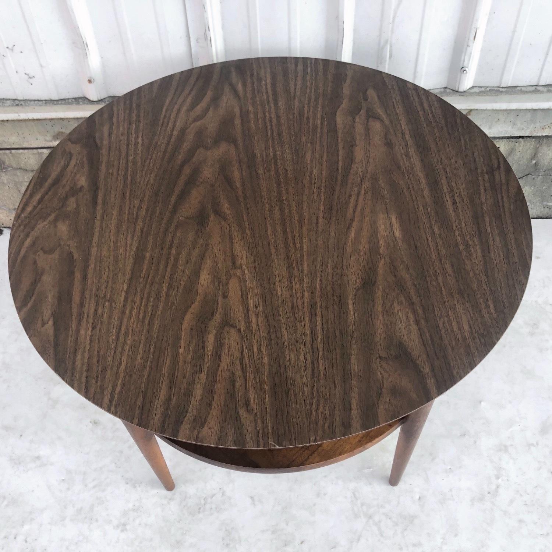 Tall Mid-Century Modern Side Table - image-3