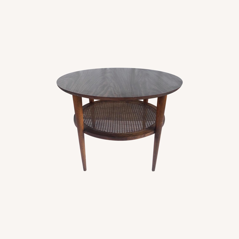 Tall Mid-Century Modern Side Table - image-0