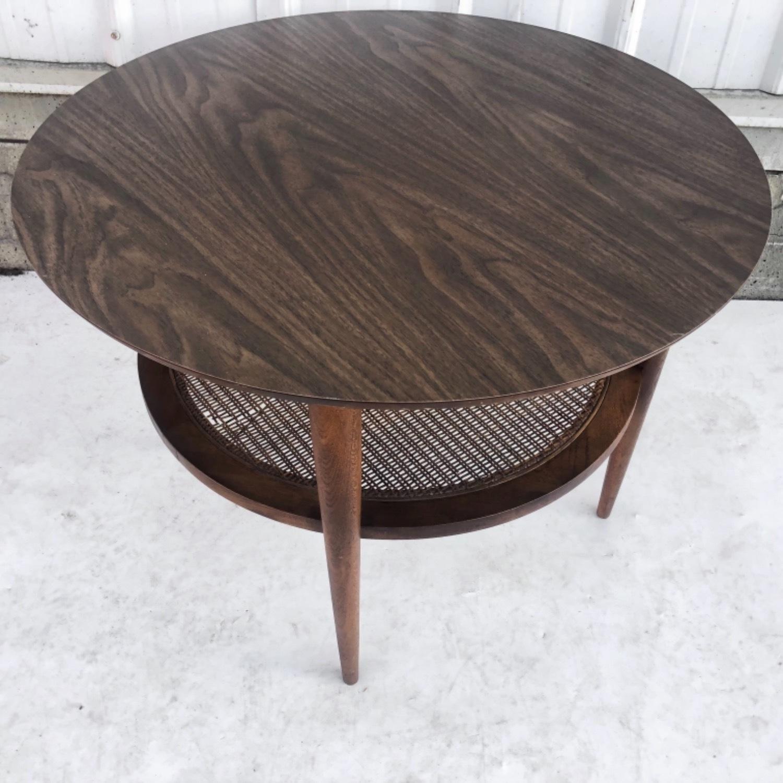 Tall Mid-Century Modern Side Table - image-11