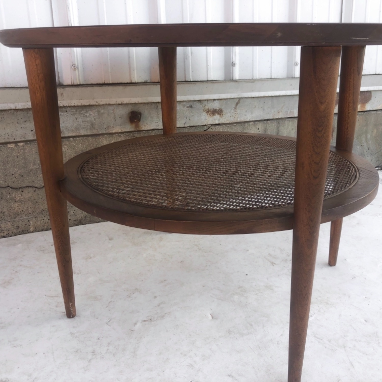 Tall Mid-Century Modern Side Table - image-8