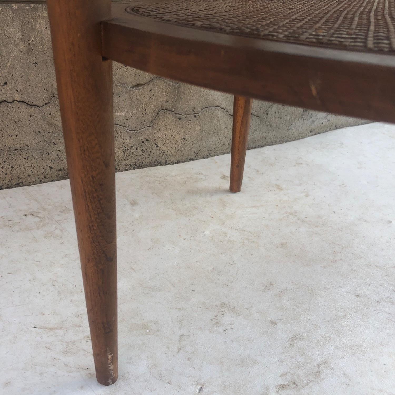 Tall Mid-Century Modern Side Table - image-9