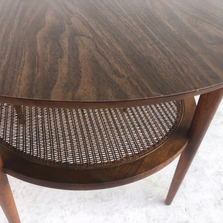 Tall Mid-Century Modern Side Table - image-5