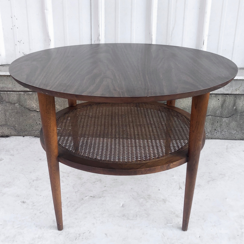 Tall Mid-Century Modern Side Table - image-2
