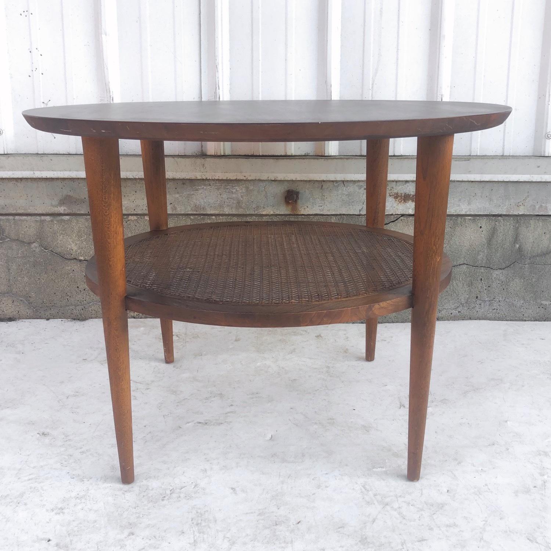 Tall Mid-Century Modern Side Table - image-1