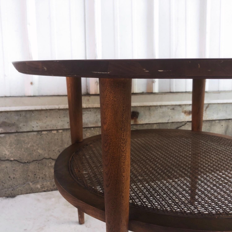 Tall Mid-Century Modern Side Table - image-7