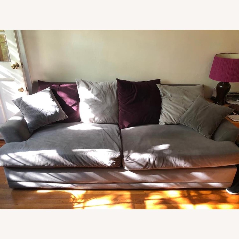 American Signature Gray Sofa - image-2