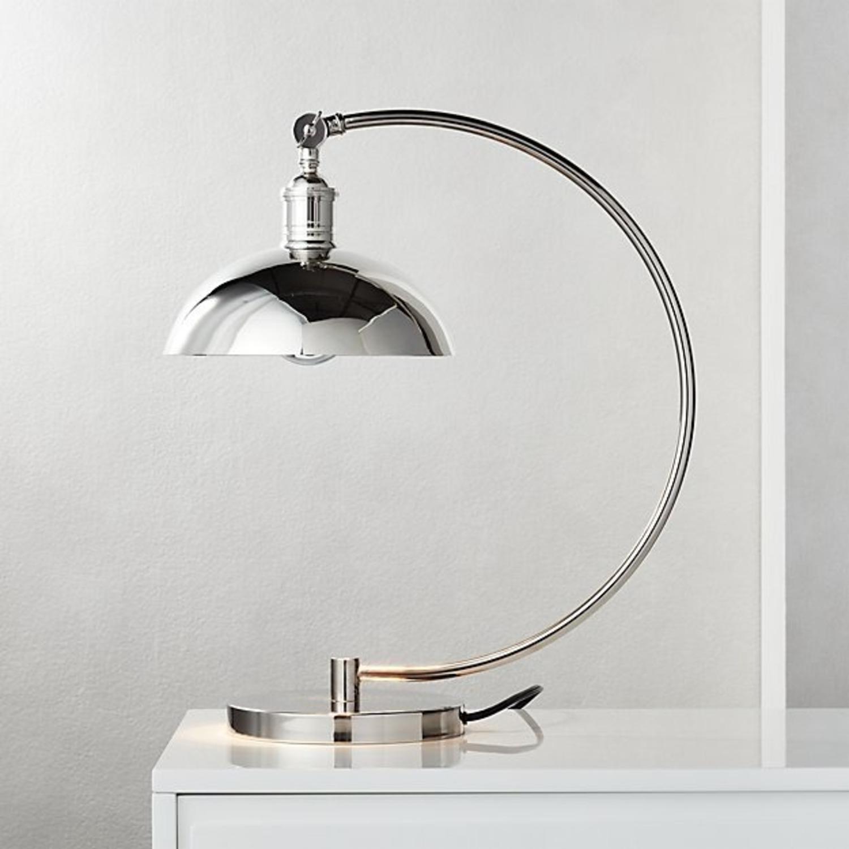 CB2 Chrome Task Lamp (Set of 2) - image-3