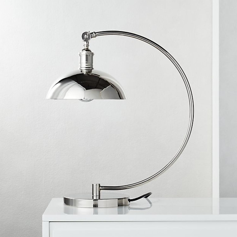 CB2 Chrome Task Lamp (Set of 2) - image-1