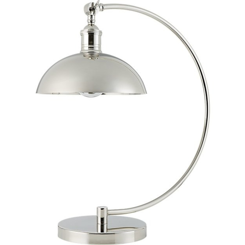 CB2 Chrome Task Lamp (Set of 2) - image-2